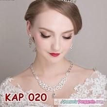 Necklace bridal party Wedding Accessories l women's Modern woman-KAP020