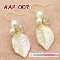 Aksesoris Anting Pesta Pengantin Emas- Perhiasan Wedding Wanita-AAP007