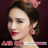 Buy Accessories bridal party Earrings Red l Ladies Jewelry-AAR 006 4