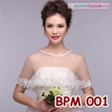 Bolero Pengantin Modern l Cardigan Wedding l Aksesoris Pesta - BPM 001