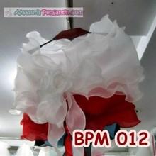 Bolero Pesta Wedding Wanita l Aksesoris Cardigan Pengantin - BPM 012