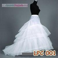 Jual Petticoat Wedding Panjang Berekor l Rok Dalaman Gaun Pengantin -LPC001