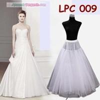 Jual Wedding Petticoat Panjang Lolita l Rok Dalaman Gaun Pengantin -LPC 009