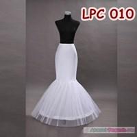 Jual Petticoat Wedding Duyung (1Ring) l Rok Dalaman Gaun Pengantin -LPC 010
