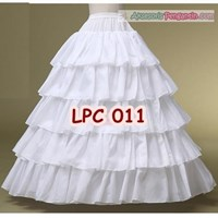 Jual Petticoat Wedding (4 Ring 5 Layer)l Rok Dalaman Gaun Pengantin -LPC011