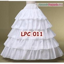 Petticoat Wedding (4 Ring 5 Layer)l Rok Dalaman Gaun Pengantin -LPC011