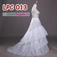 Jual Petticoat Wedding Panjang Berekor l Rok Dalaman Gaun Pengantin-LPC 013