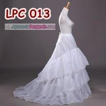 Petticoat Wedding Panjang Berekor l Rok Dalaman Gaun Pengantin-LPC 013
