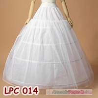 Jual Petticoat Wedding l Rok Dalaman Gaun Pengantin (4ring 1layer)- LPC 014