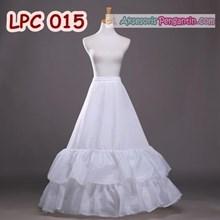 Petticoat Wedding Ball Gown - Rok Pengembang Gaun Pengantin - LPC 015