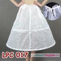 Jual Rok Petticoat Bridal Murah l Pengembang Rok Gaun Pesta (2ring)-LPC 017