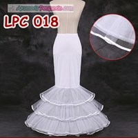 Jual Petticoat Duyung Gaun Pengantin-Rok Pengembang Mermaid (3layer)-LPC018