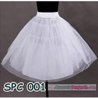 Jual Petticoat Pengembang Rok Mini Dress l Rok tutu Balet Putih - SPC 001