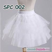 Jual Petticoat Pengembang Rok Tutu Balet l Rok Daleman Mini Dress - SPC 002