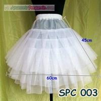 Jual Petticoat Pengembang Rok Tutu Balet l Daleman Rok Mini Dress - SPC 003