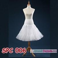 Jual Rok Tutu Rok Pengembang Dress Putih l Rok Petticoat Gaun Pesta-SPC 006