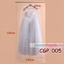 Cover Pelindung Gaun Pengantin Bridal l Penyimpanan Baju Pesta- CGP 005
