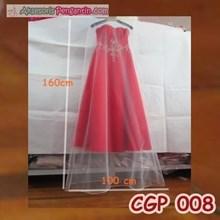 Cover Gaun Pengantin Bridal- Pelindung debu gaun Pesta P160cm -CGP 008