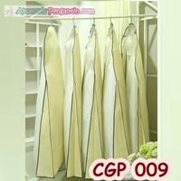 Cover Pelindung Gaun Pesta Modern Kuning Krem 180x70x25cm - CGP 009
