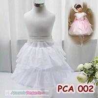 Jual Petticoat Anak l Rok Pengembang Mini Dress Anak (1Hoop 2Layer)-PCA 002