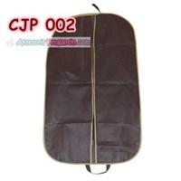 Jual Cover Bungkus Pelindung Jaket Jas Pesta dari Debu Kotoran Brown-CJP002