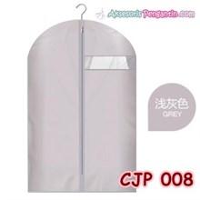 Cover Pelindung Baju Jaket Jas Pesta dari Debu Kotoran Grey- CJP 008