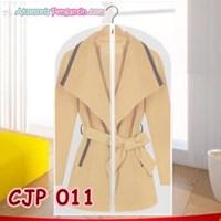 Cover Pelindung Baju Jaket Jas Pesta dr Debu Kotoran Transparan-CJP011