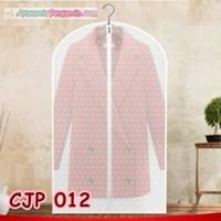 Pelindung Cover Baju Jaket Jas Pesta dari Debu-Transparan Motif-CJP012