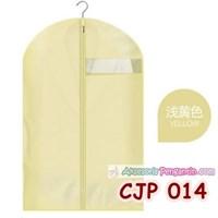 Cover Pelindung Baju Jaket Coat Jas Pesta dr Debu Kotor Kuning-CJP014