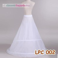 Jual Petticoat Bridal Panjang Berekor l Rok Dalaman Gaun Pengantin - LCP002