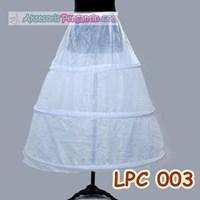 Jual Petticoat bridal Panjang l Rok Dalaman Gaun Pengantin (3ring) - LCP003