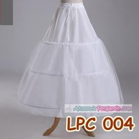 Jual Petticoat Wedding Panjang l Rok Dalaman Gaun (3ring 1 layer) - LCP 004