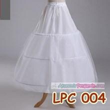 Petticoat Wedding Panjang l Rok Dalaman Gaun (3ring 1 layer) - LCP 004
