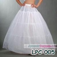 Jual Petticoat Gaun Pengantin l Rok Dalaman bridal (3ring 2layer) - LCP 005