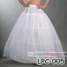 Petticoat Gaun Pengantin l Rok Dalaman bridal (3ring 2layer) - LCP 005