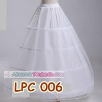 Jual Petticoat Wedding l Rok Dalaman Gaun Pengantin (4ring 2layer)- LCP 006