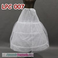 Jual Petticoat Pengantin l Rok Dalaman Gaun Wedding (3ring 1layer)- LCP 007