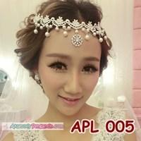 Aksesoris Pengantin Modernl Hiasan Rambut Pesta Wedding Wanita-APL 005