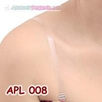 Jual Tali BH Transparan- Tali Bra Transparan- Aksesoris Baju Pesta- APL 008
