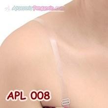 Tali BH Transparan- Tali Bra Transparan- Aksesoris Baju Pesta- APL 008