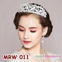 Aksesoris Mahkota Pengantin Wanita - Crown Tiara Rambut Wedding-MRW011