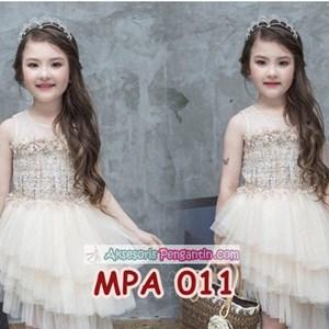 Crown Mahkota Pesta Anak Putri l Aksesoris Tiara Rambut Wanita- MPA011