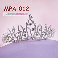 Distributor Aksesoris Mahkota Pesta Anak Modern l Crown Rambut Rambut Wanita-MPA 012 3