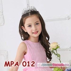 Aksesoris Mahkota Pesta Anak Modern l Crown Rambut Rambut Wanita-MPA 012
