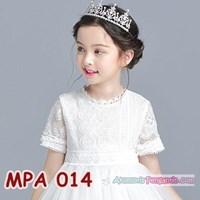 Distributor Crown Mahkota Rambut Pesta Anak Modern l Aksesoris Tiara Putri -MPA014 3