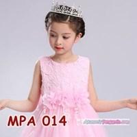 Crown Mahkota Rambut Pesta Anak Modern l Aksesoris Tiara Putri -MPA014 Murah 5