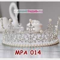 Crown Mahkota Rambut Pesta Anak Modern l Aksesoris Tiara Putri -MPA014 1