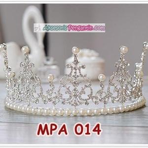Crown Mahkota Rambut Pesta Anak Modern l Aksesoris Tiara Putri -MPA014