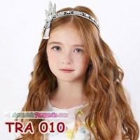 Jual Aksesoris Tiara Pesta Anak Modern- Hiasan Sanggul Rambut Wanita-TRA010 2