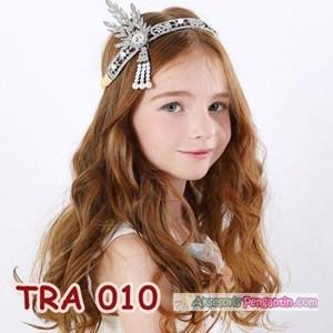 Aksesoris Tiara Pesta Anak Modern- Hiasan Sanggul Rambut Wanita-TRA010